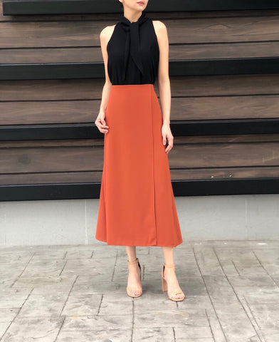 Laurel Skirt in Rust
