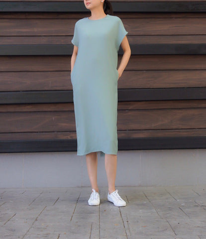 Donella Knitted Dress in Green