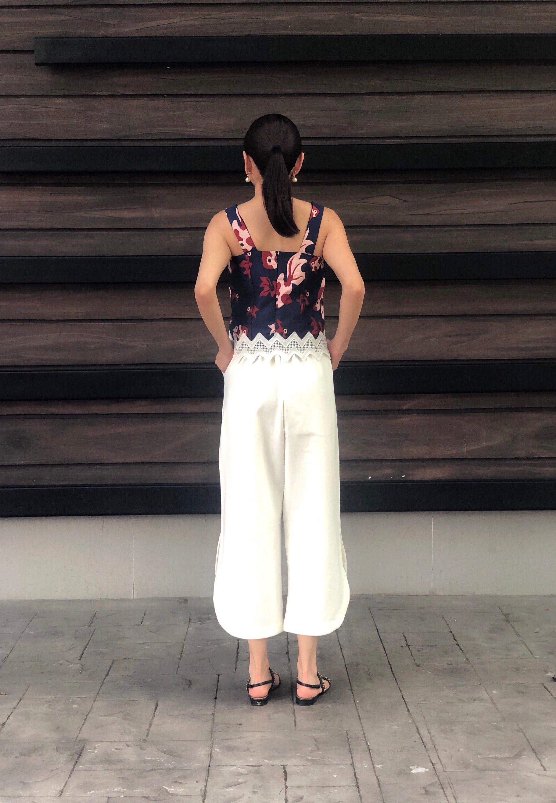 Kalisha Culottes in White