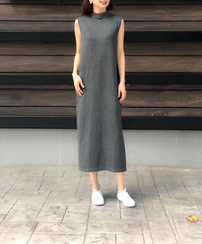 Zen Shirt Dress in Charcoal