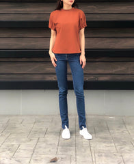 Lauraine Top in Rust