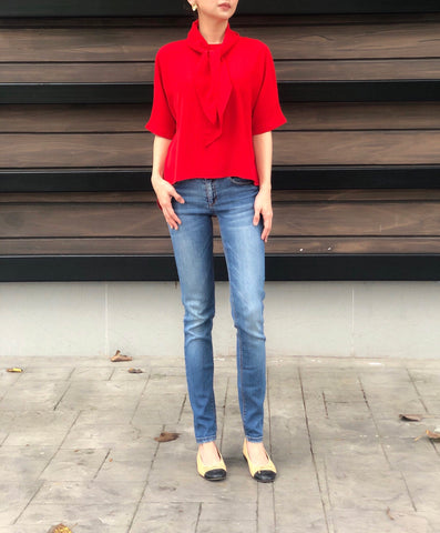 Anna Top in Red