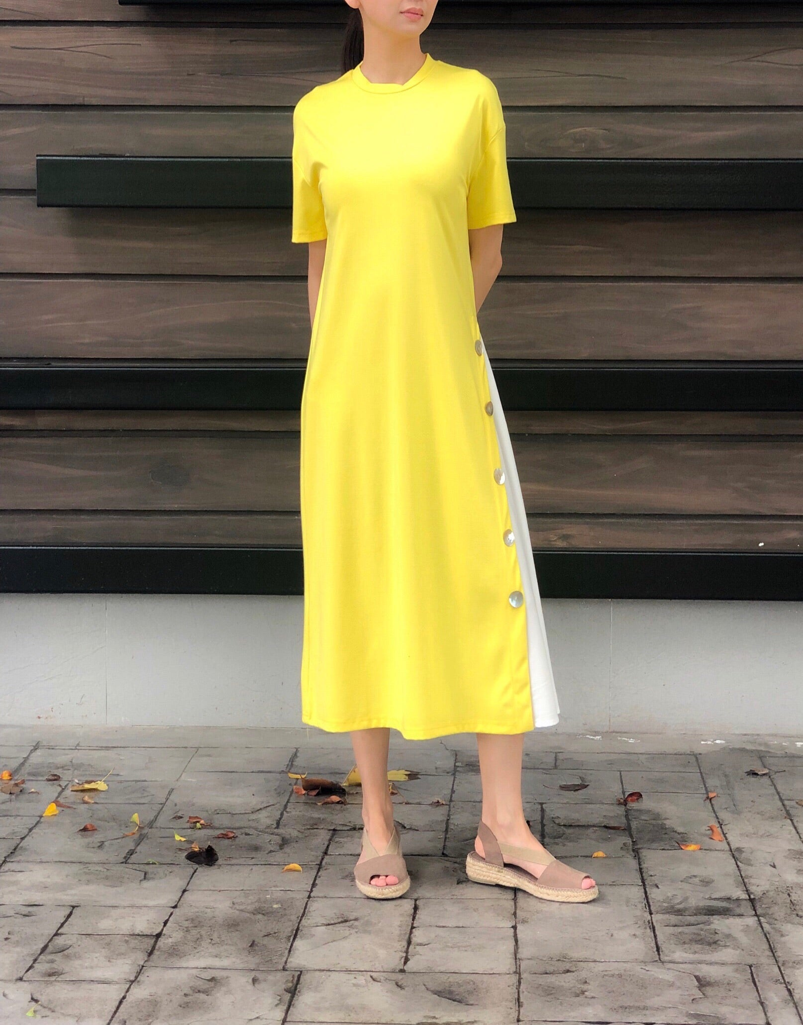 Kassidy Dress in Yellow