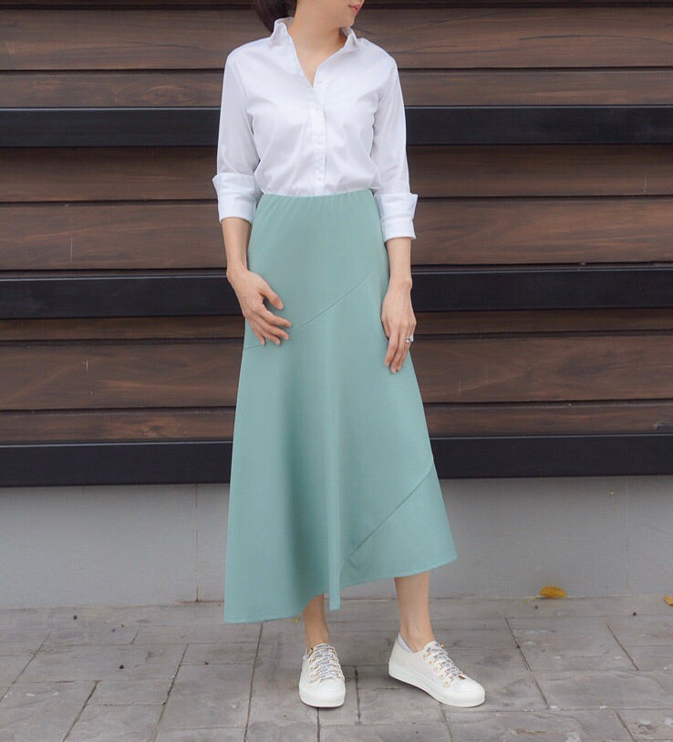 Geneva Skirt in Green