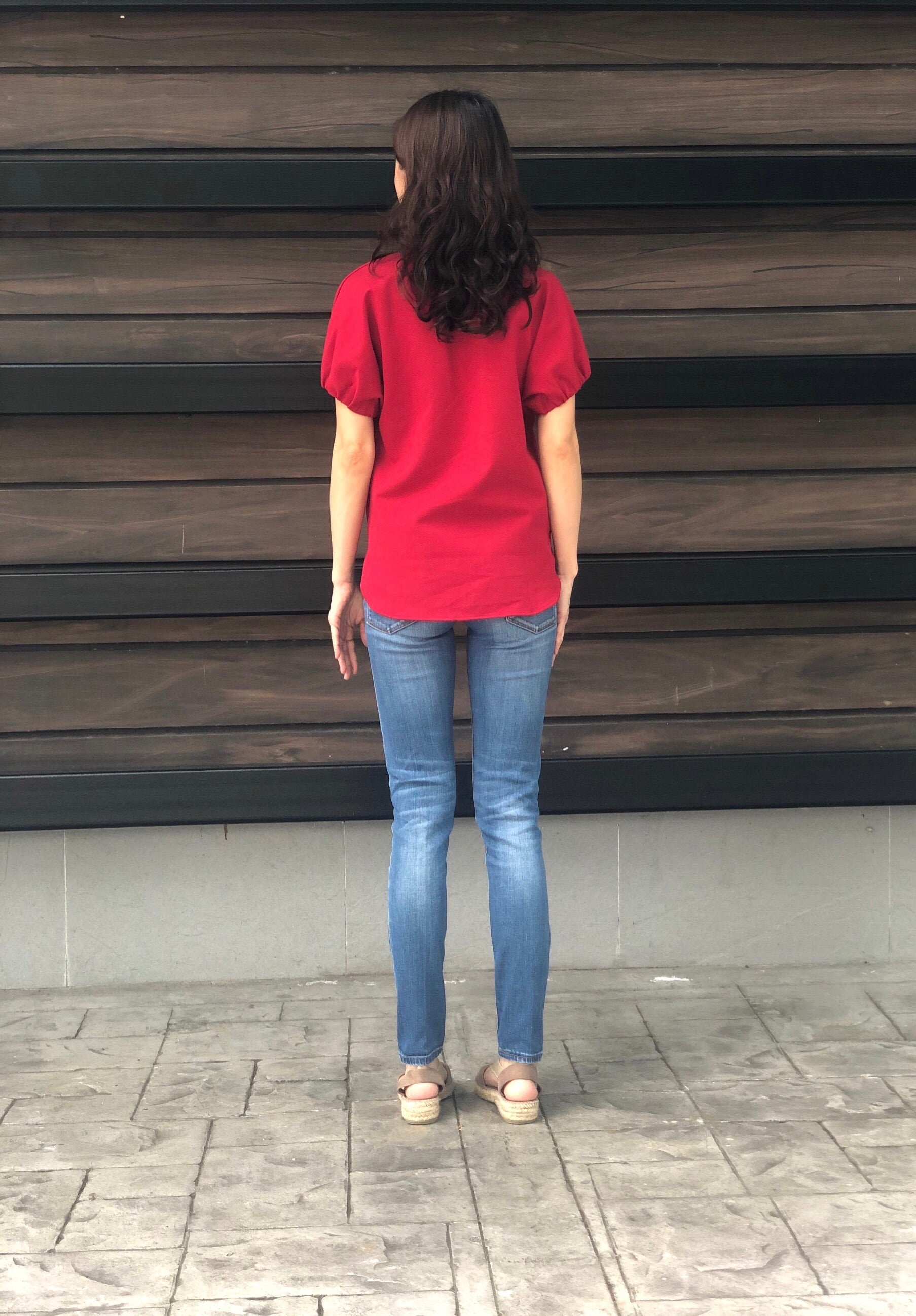 Lauraine Top in Red