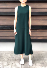 Donoma Dress in Emerald