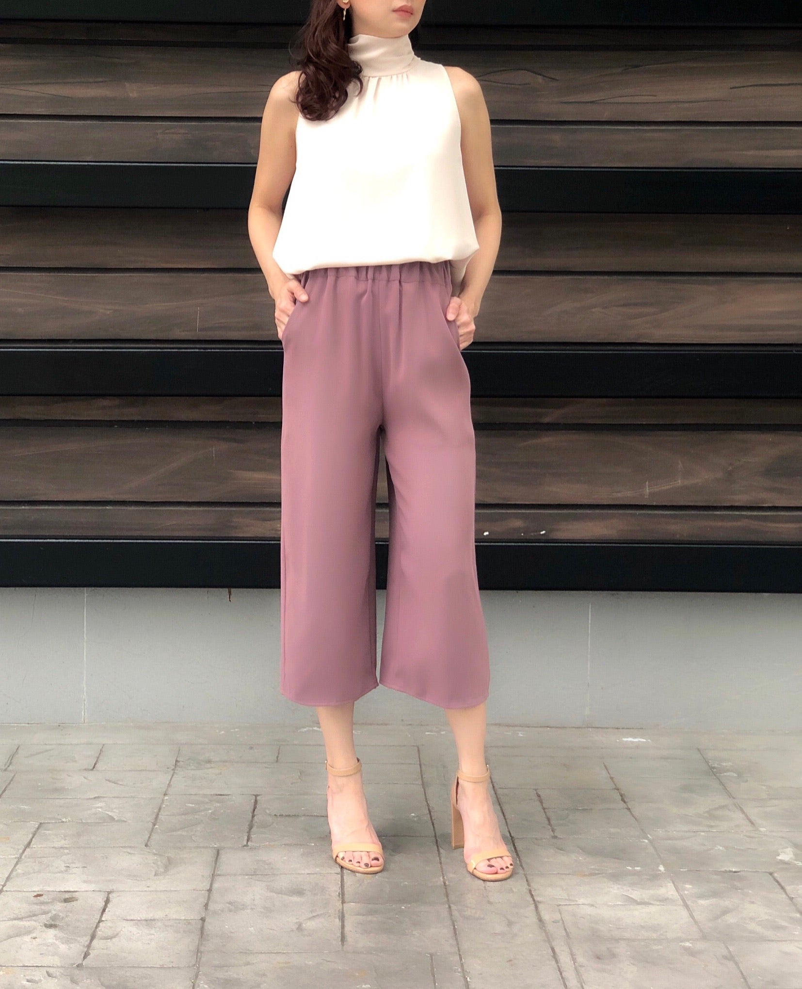 Lauretta Culottes in Rose