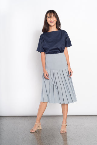 Dorika Skirt in Navy