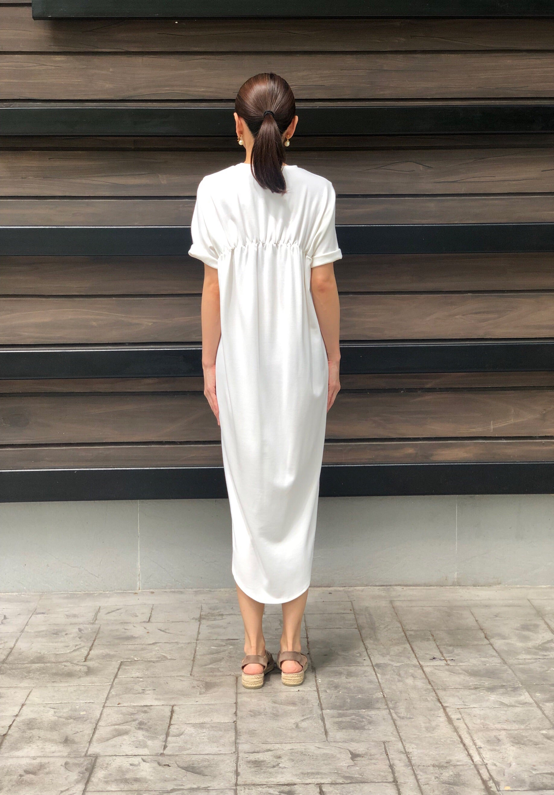 Hikaru Dress in White