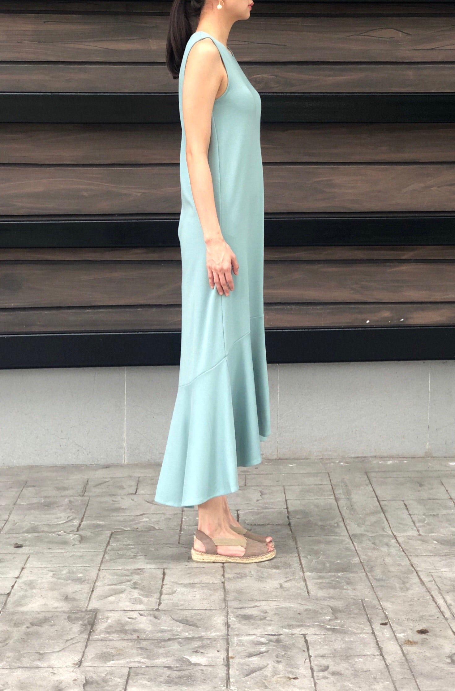 Karen Dress in Green