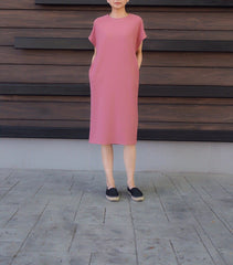 Harley Dress in Pink