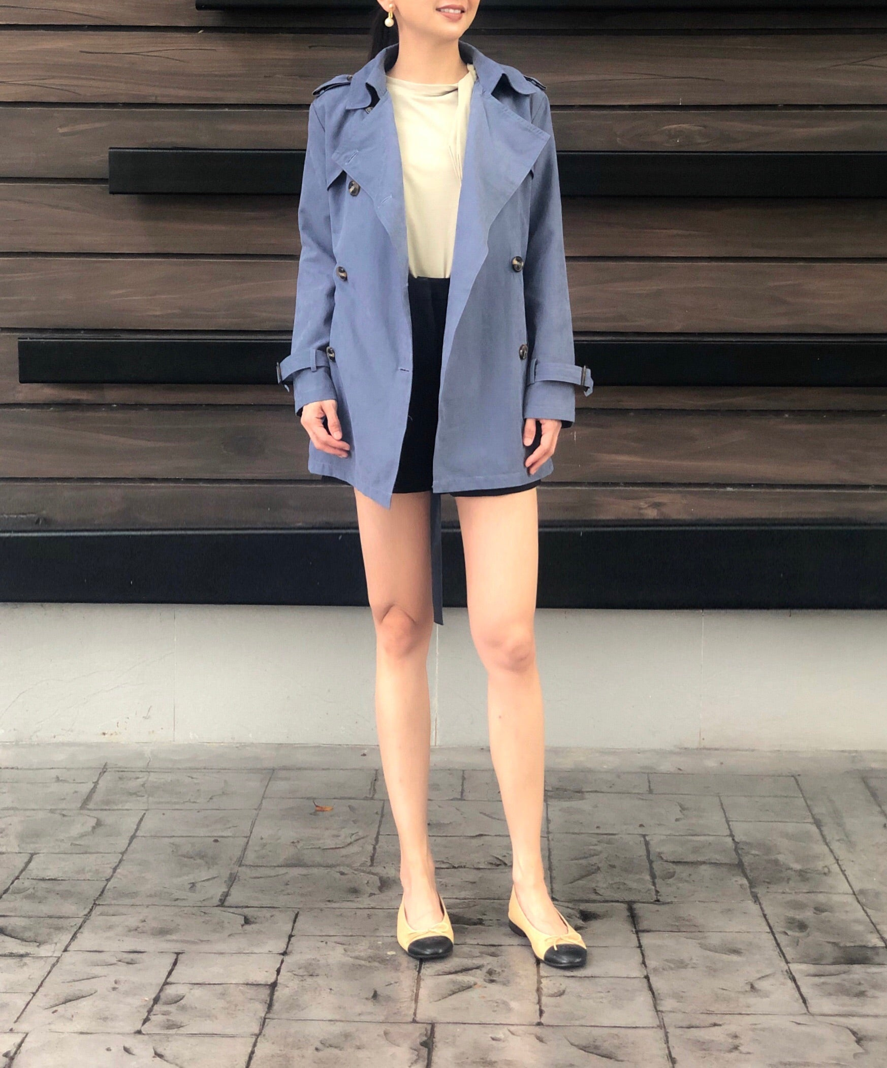 Jorunn Trench in Blue