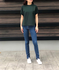 Lauraine Top in Emerald