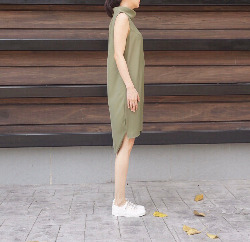 Genie Dress in Green
