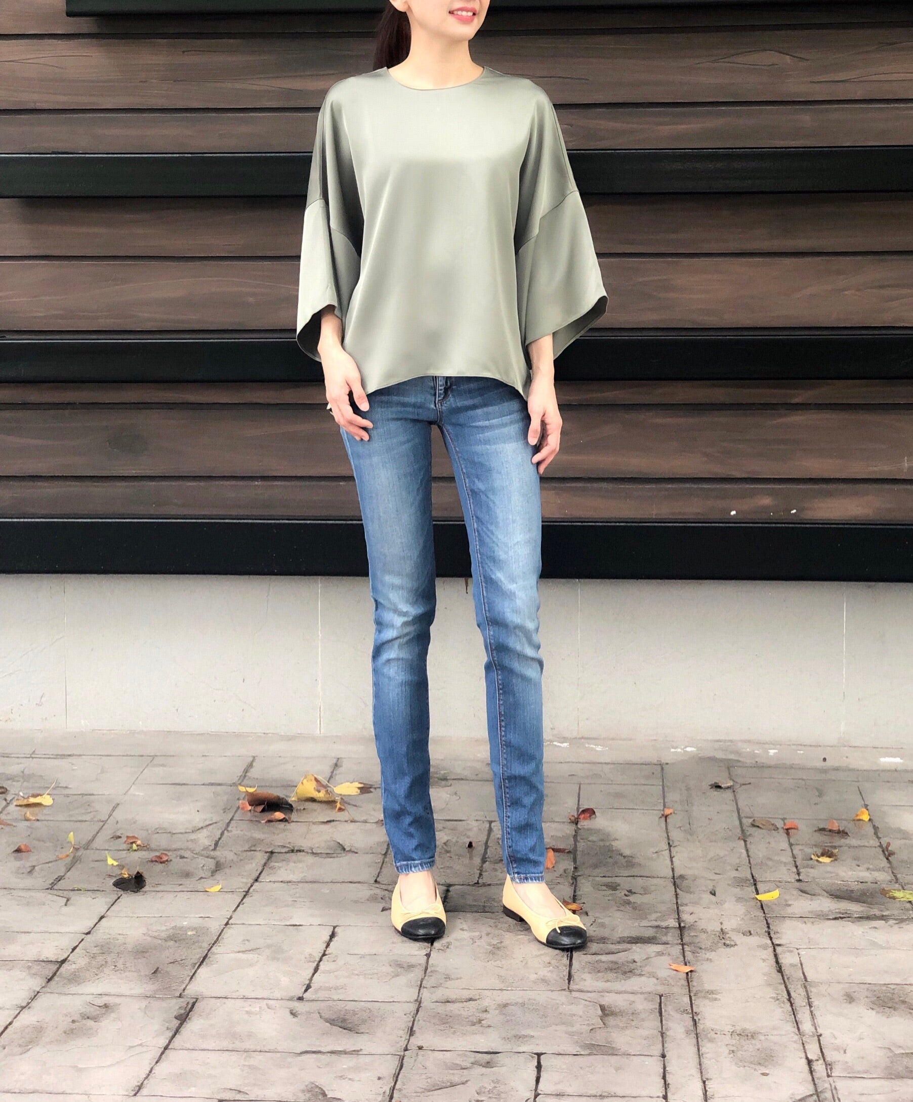 Katalin Top in Green