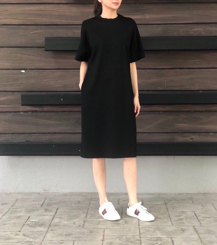 Zen Shirt Dress in White