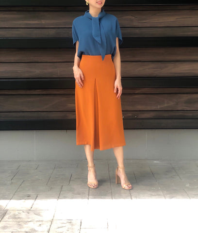 Lark Skirt in Rust