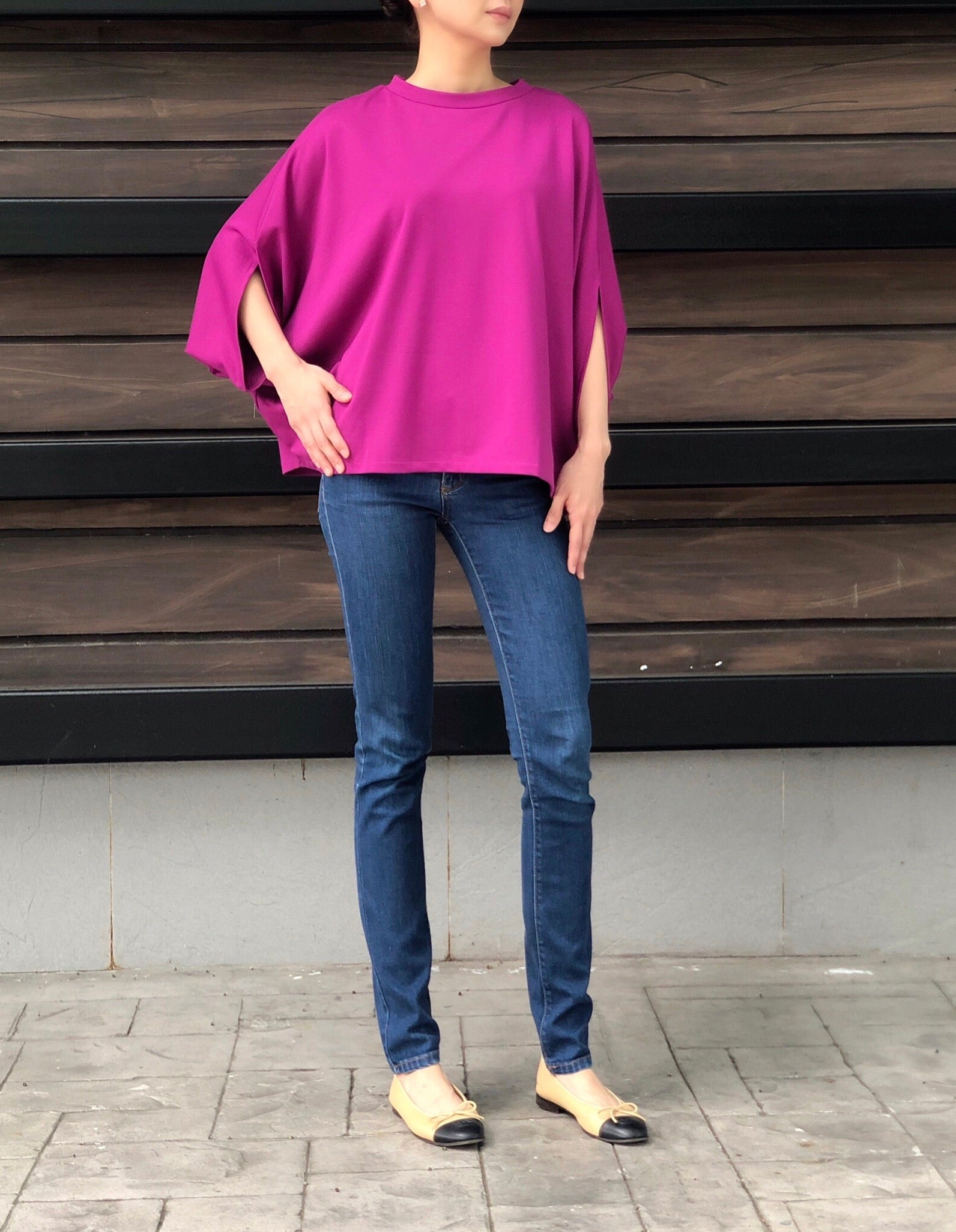 Nancy Top in Magenta