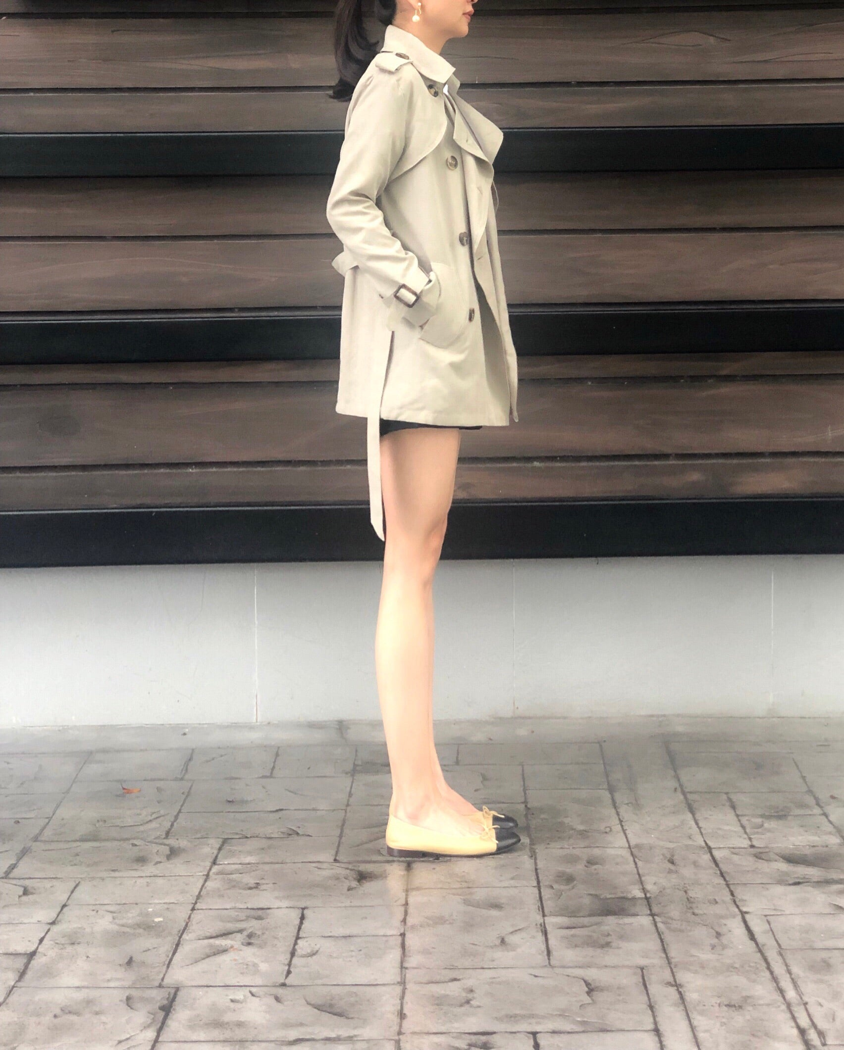 Jorunn Trench in Green