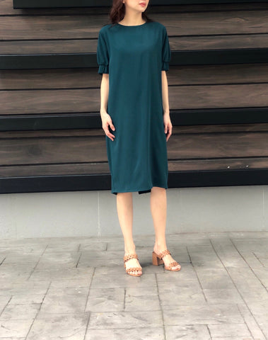 Kamila Dress in Green