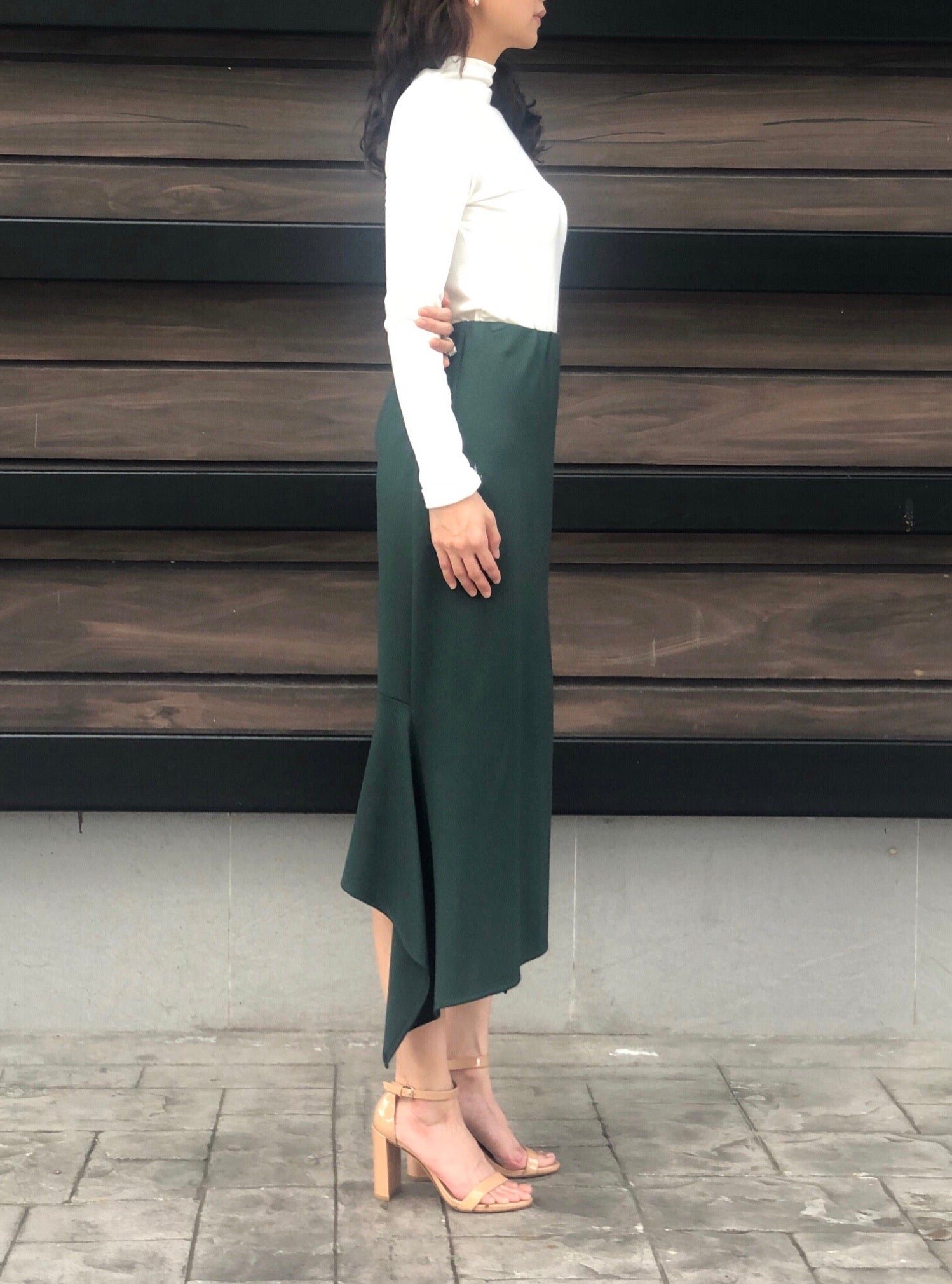 Manuela Skirt in Emerald