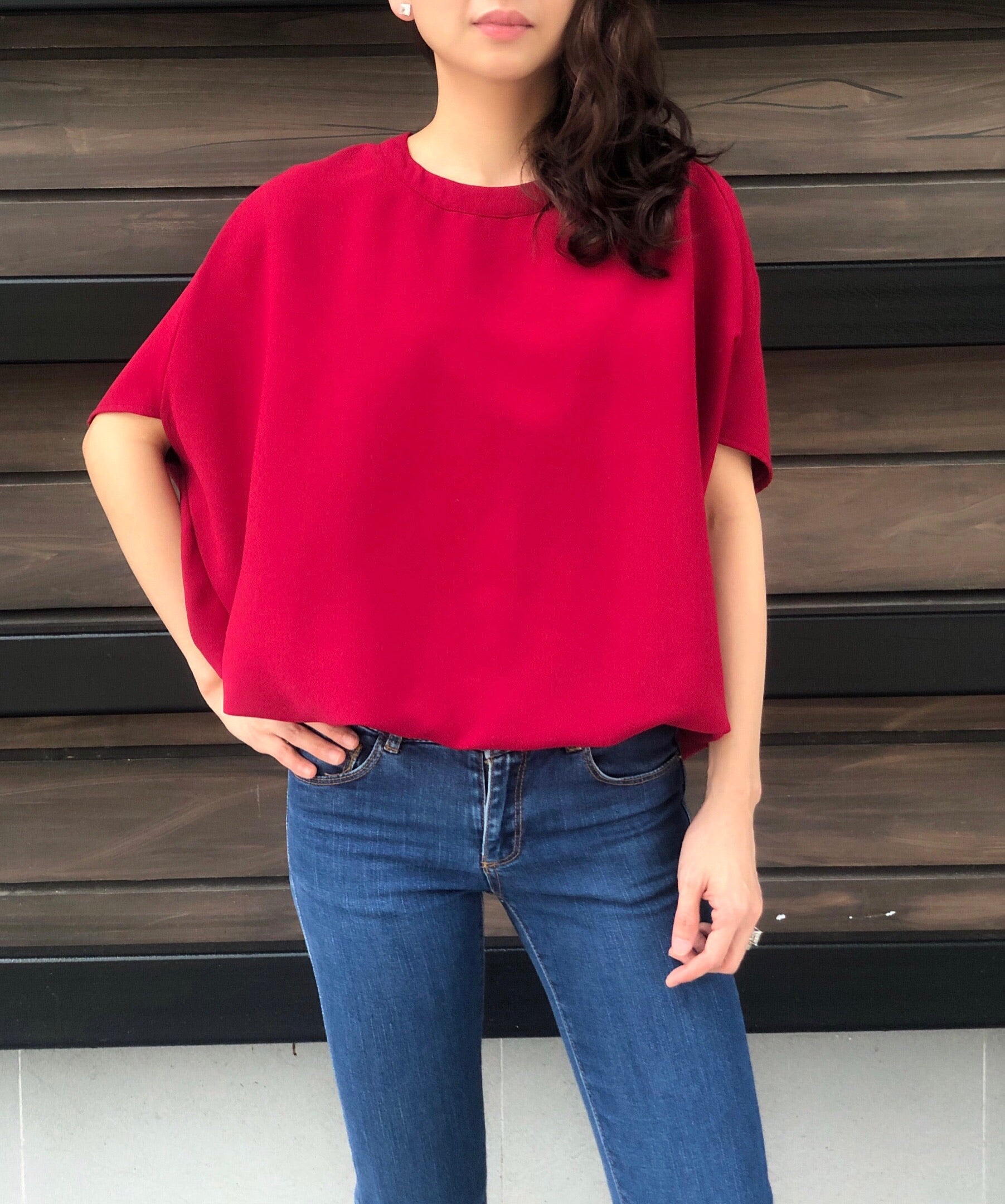Manila Top in Red