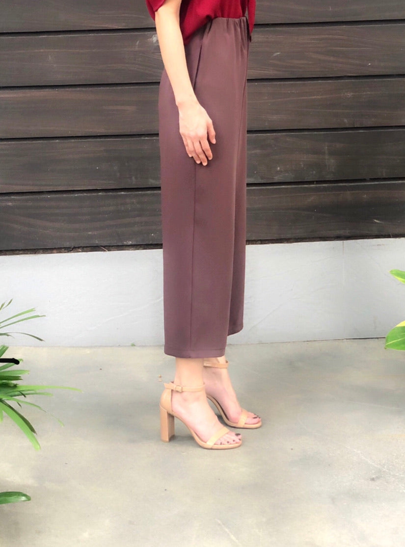 Lacey Culottes in Chocolate