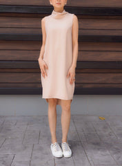 Genie Dress in Beige