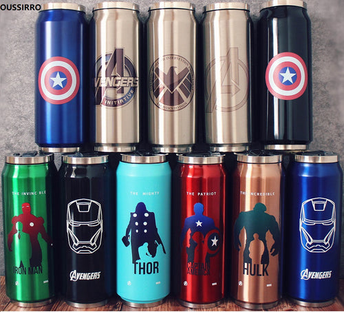AVENGERS | Justice League Flasks (non-digital)