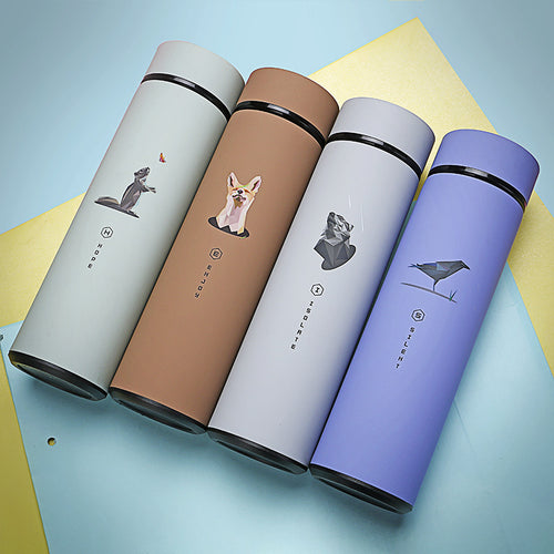 xclusive*  Flask with Animal Character | Colour Choice | (non-digital)