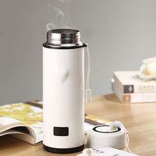"Load image into Gallery viewer, 360ML ""Heart"" Unique Design Flask with Thermometer"
