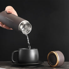 Load image into Gallery viewer, 422ML FOUR Colors Smart Vacuum Flask with Wireless Charging