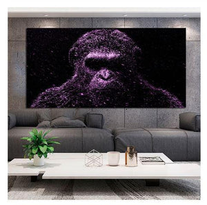 Wall Decor - Gorilla, Tiger, Animal Prints, Monkey, Chimps, Animal Pictures
