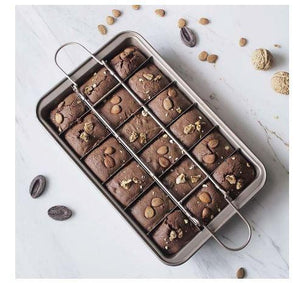 Kitchen Decor & Bakeware - Let the Baking Begin! We have brownie Pans with dividers.