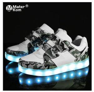 Kid's LED Shoes, USB Rechargeable LED Shoes, Kid's Shoes, Kid's Footwear, Footwear, Kid's Footwear, Kid's Clothing, Kid's Apparel