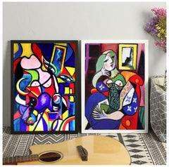 picasso prints and canvas art prints for home and wall decorations, classic art prints