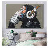 animal decor, animal canvas prints, framed animal wall art for sale