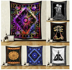 large wall hanging tapestries, bohemian tapestries, home decor, wall decoration