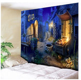 wall hanging tapestries for halloween home decor bedroom living room kid's room