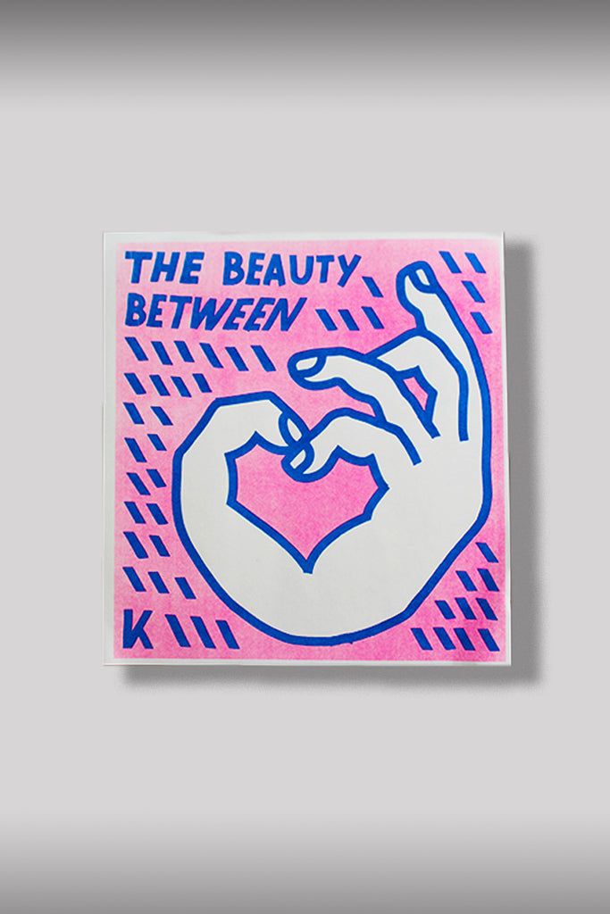 """THE BEAUTY BETWEEN"" VINYL + ZINE"