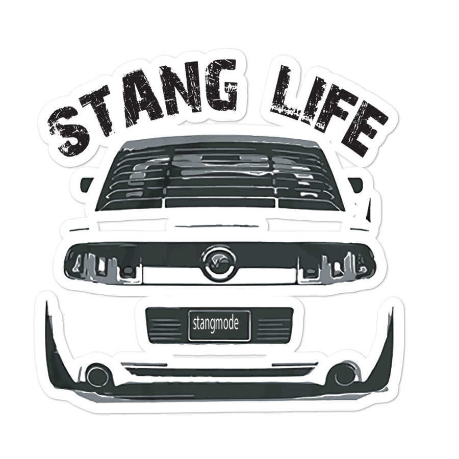 Stang LifeBubble-free stickers