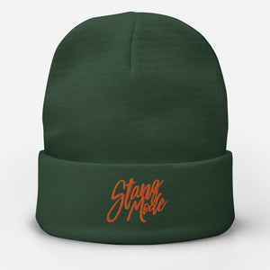 StangMode Embroidered Beanie