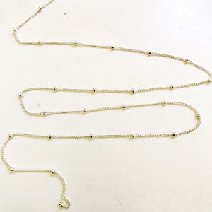 Sterling silver belly chain/ Dainty belly chain, skinny waist chain