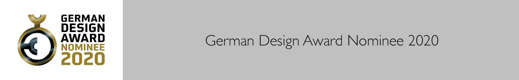 German Design Award Nominee 2020