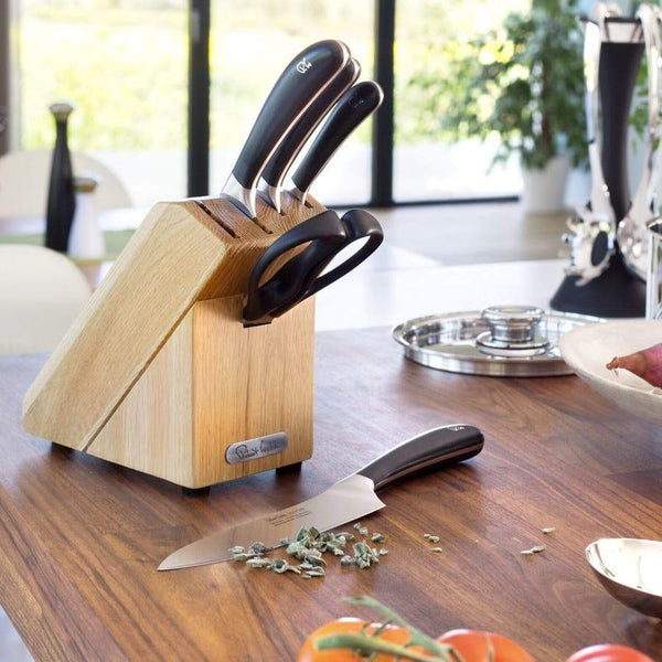 Signature Compact Knife Block Set - Lifestyle