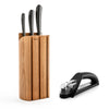 Signature Book Oak Chef's Set - Free Knife Sharpener