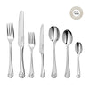 Ammonite Bright Cutlery Set, 56 Piece for 8 People