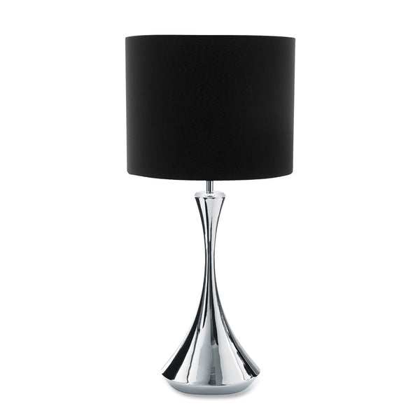 Arden Bright Table Lamp Tall with Charcoal Shade