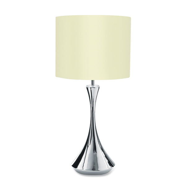 Arden Bright Table Lamp Tall with Ivory Shade