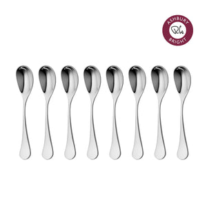 Ashbury Bright Coffee Spoon, Set of 8